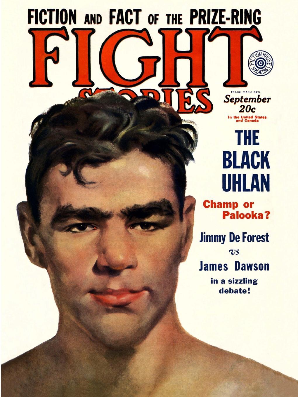Robert E. Howard, Jimmy De Forest, James P. Dawson Fight Stories, September 1930 robert e howard bal sagothi jumalad