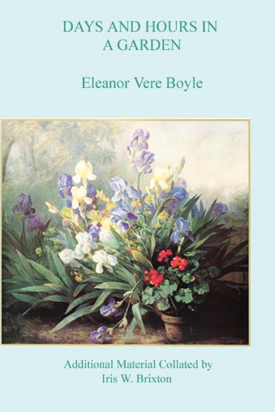 Eleanor Vere Boyle Days and Hours in a Garden kew a year in the garden colouring book