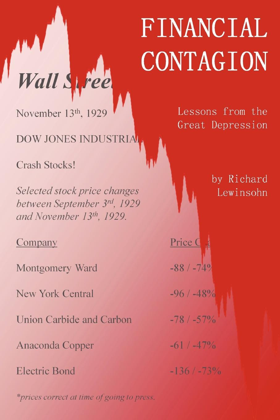 Richard Lewinsohn-Morus. Financial Contagion. Lessons from the Great Depression