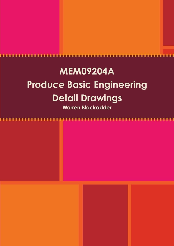 Warren Blackadder MEM09204A Produce Basic Engineering Detail drawings 6 pack 36x20yd tracing paper white drafting engineering art general catalog