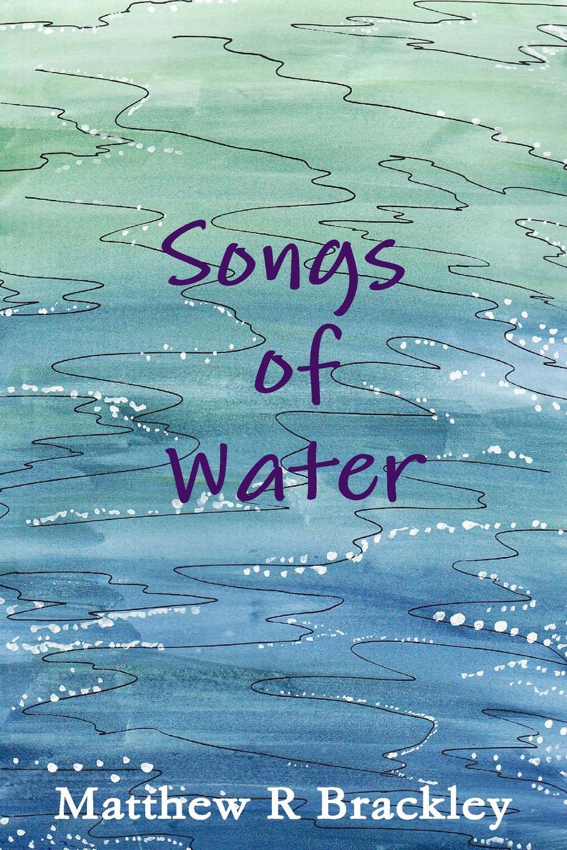 Matthew R. Brackley Songs of Water pair of chic faux opal water drop earrings jewelry for women