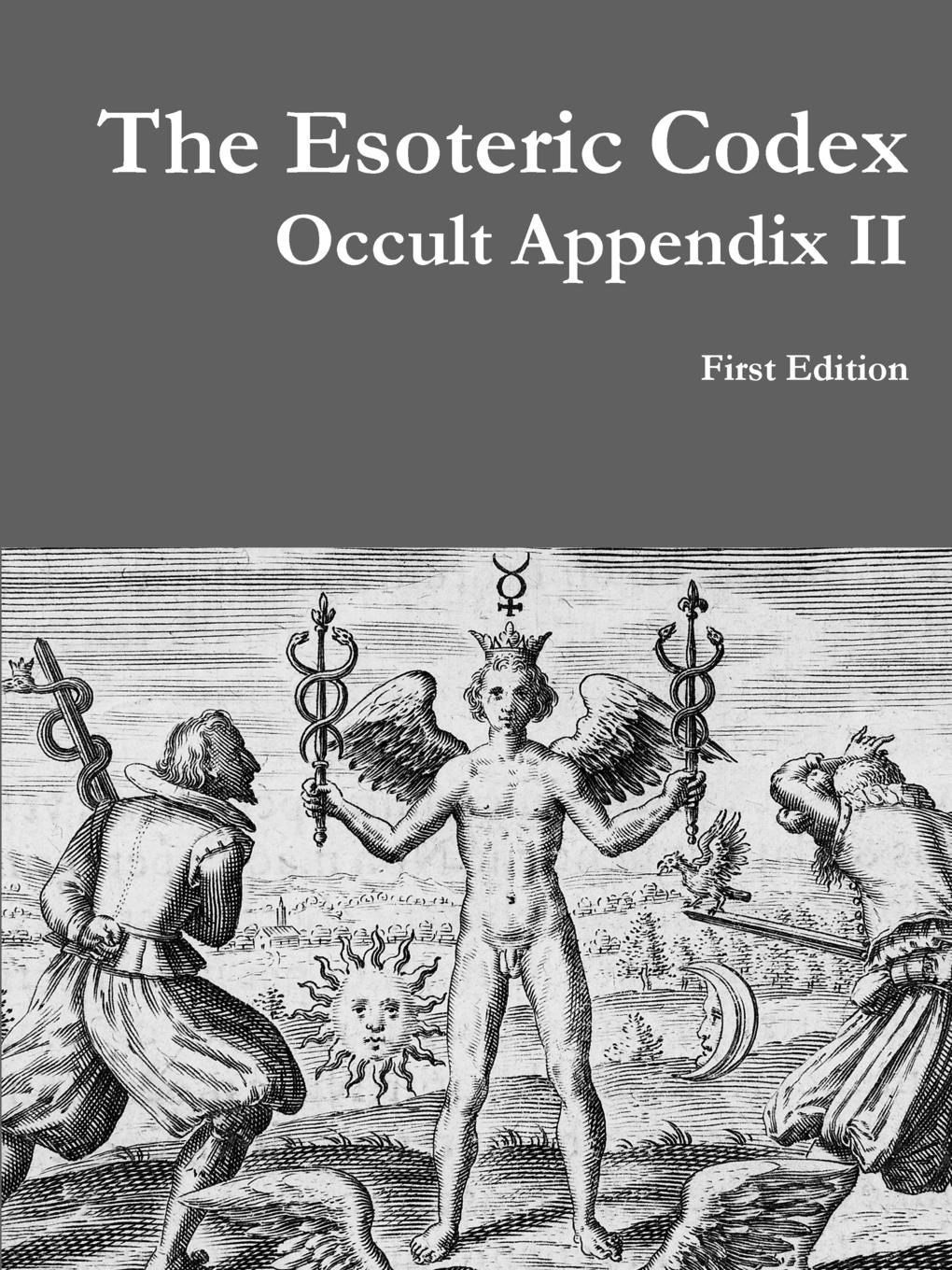 Marcel Degrave The Esoteric Codex. Occult Appendix II sergey okulov the ultimate question the theory ofeverything