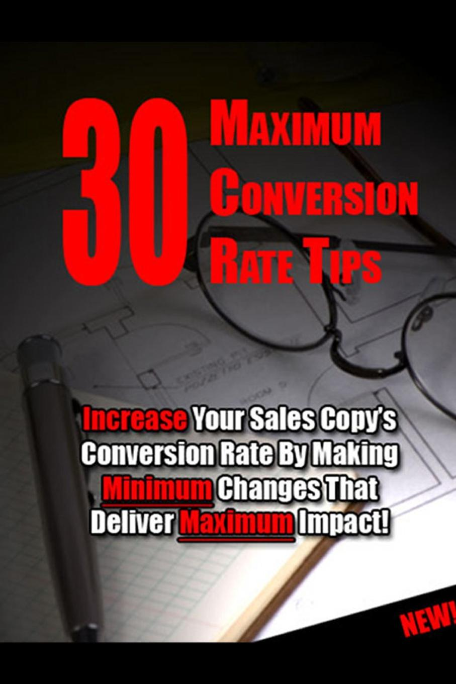 30 Maximum Conversion Rate Tips The use of sales letters had been around for as long as direct...