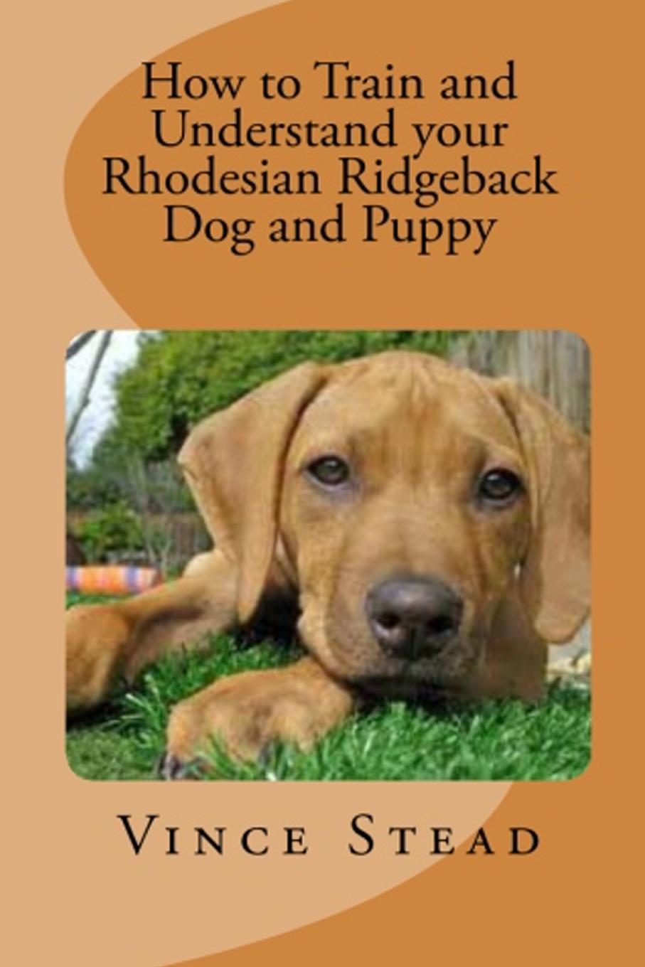 Vince Stead How to Train and Understand your Rhodesian Ridgeback Dog and Puppy цена