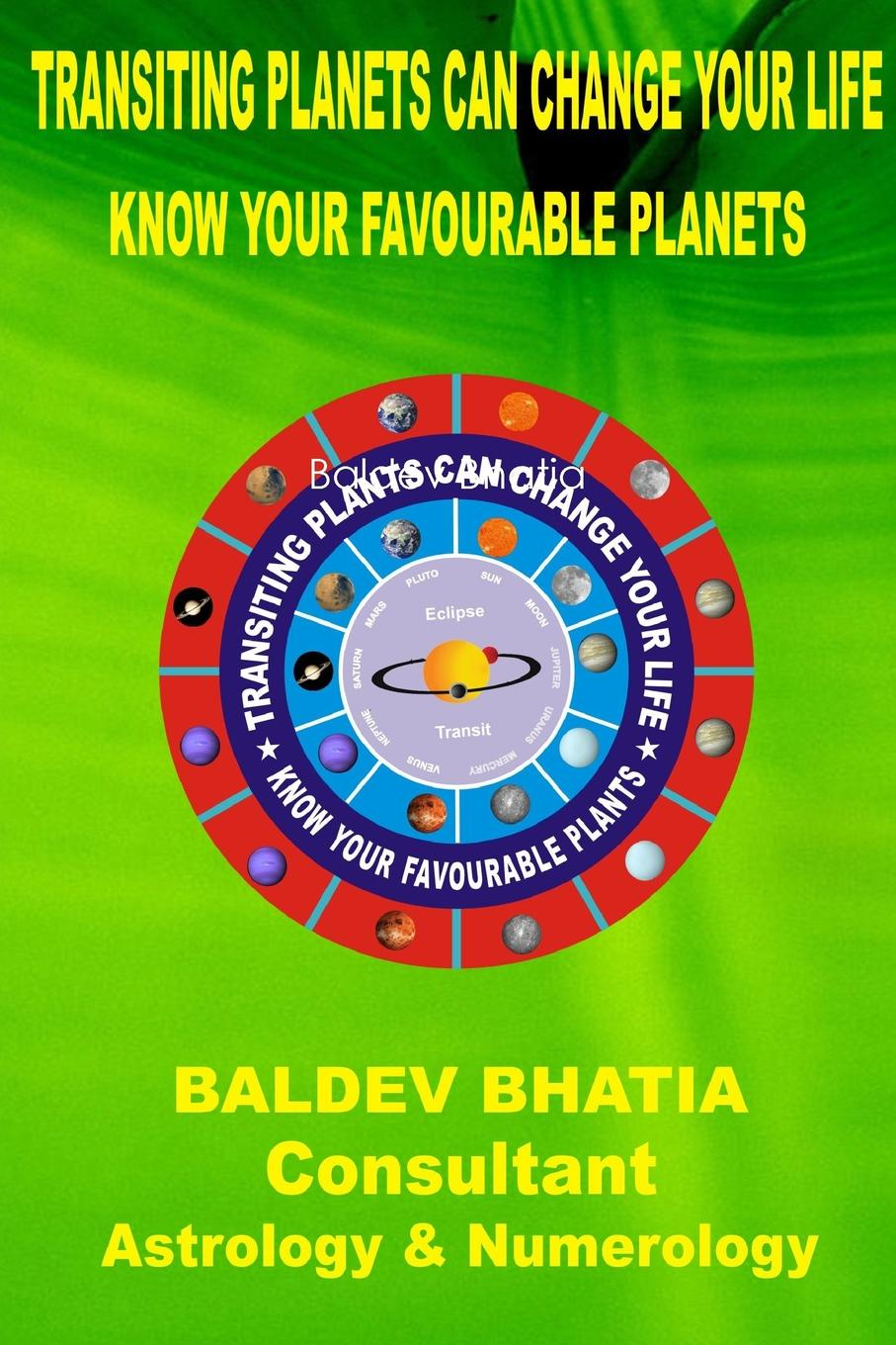 Baldev Bhatia Transiting Planets Can Change Your Life nature guide stars and planets