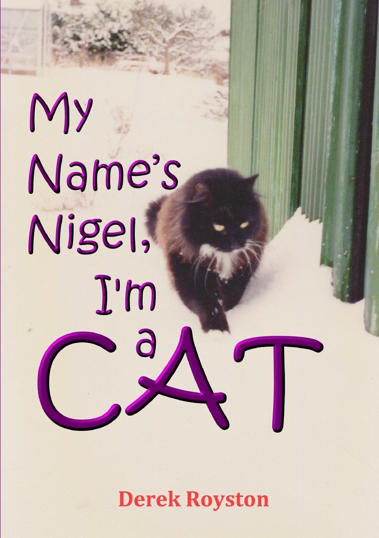 Derek Royston My Name.s Nigel, I.m a Cat майка print bar cat on a christmas tree
