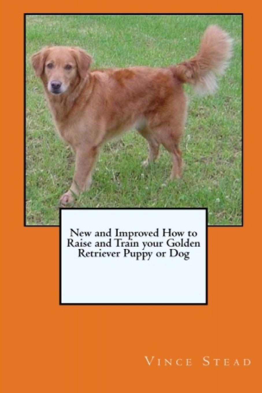 Vince Stead New and Improved How to Raise and Train your Golden Retriever Puppy or Dog vince stead how to understand and train your golden retriever puppy or dog