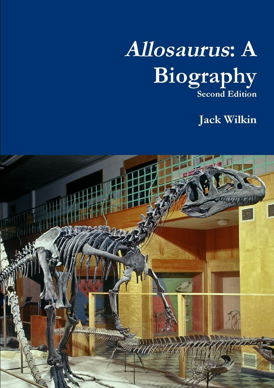 Jack Wilkin Allosaurus. A Biography triceratops rookie read about dinosaurs
