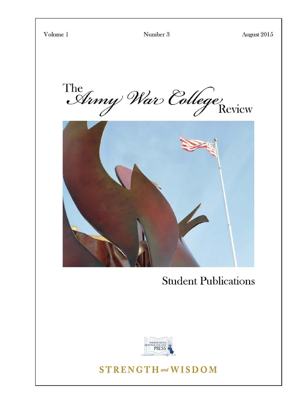 The United States Army War College The Army War College Review. Volume 1 - Number 3 new german review new german review a journal of germanic studies volume 25 2011