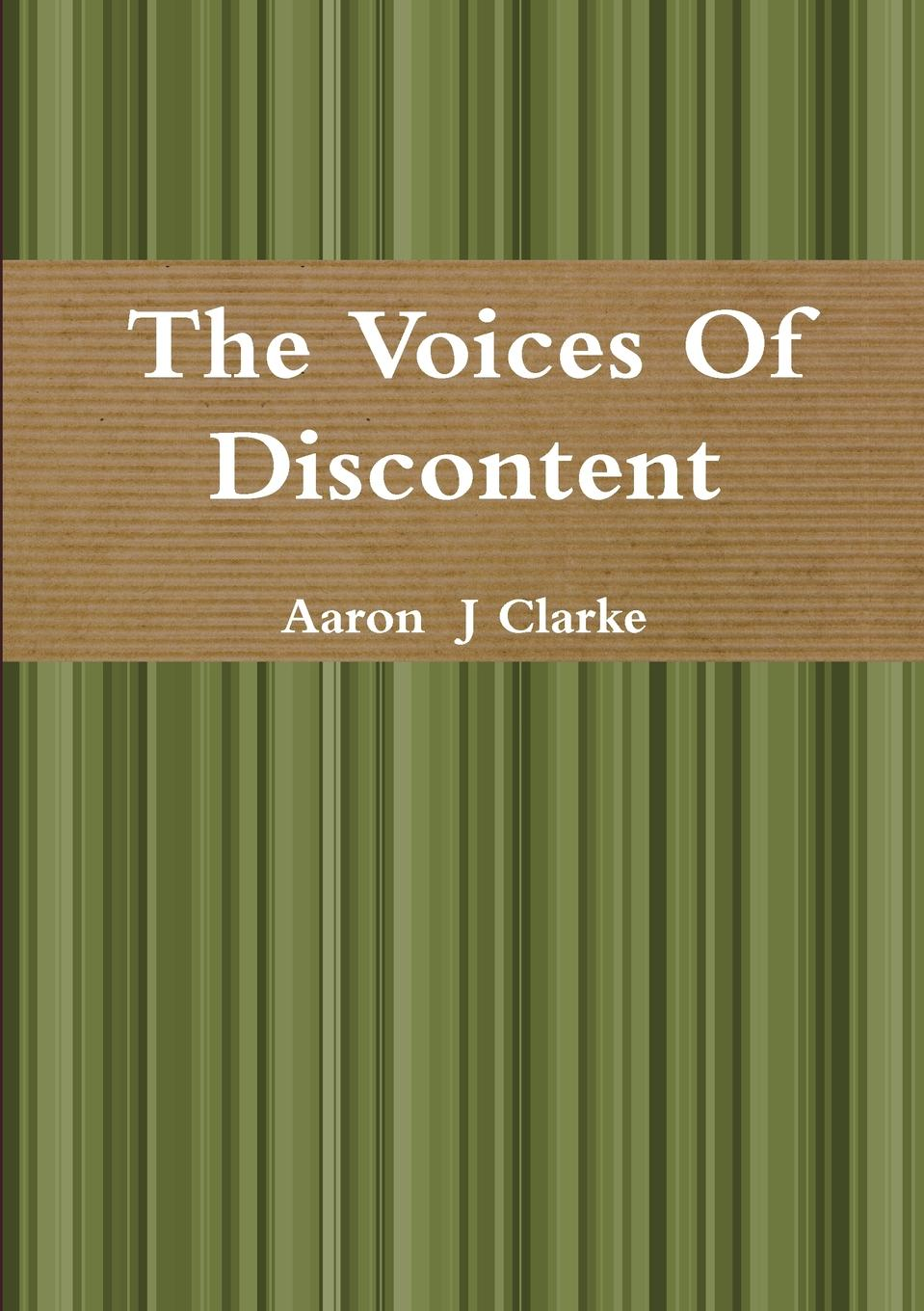 Aaron J Clarke The Voices of Discontent quality of life of children suffering from sickle cell anemia