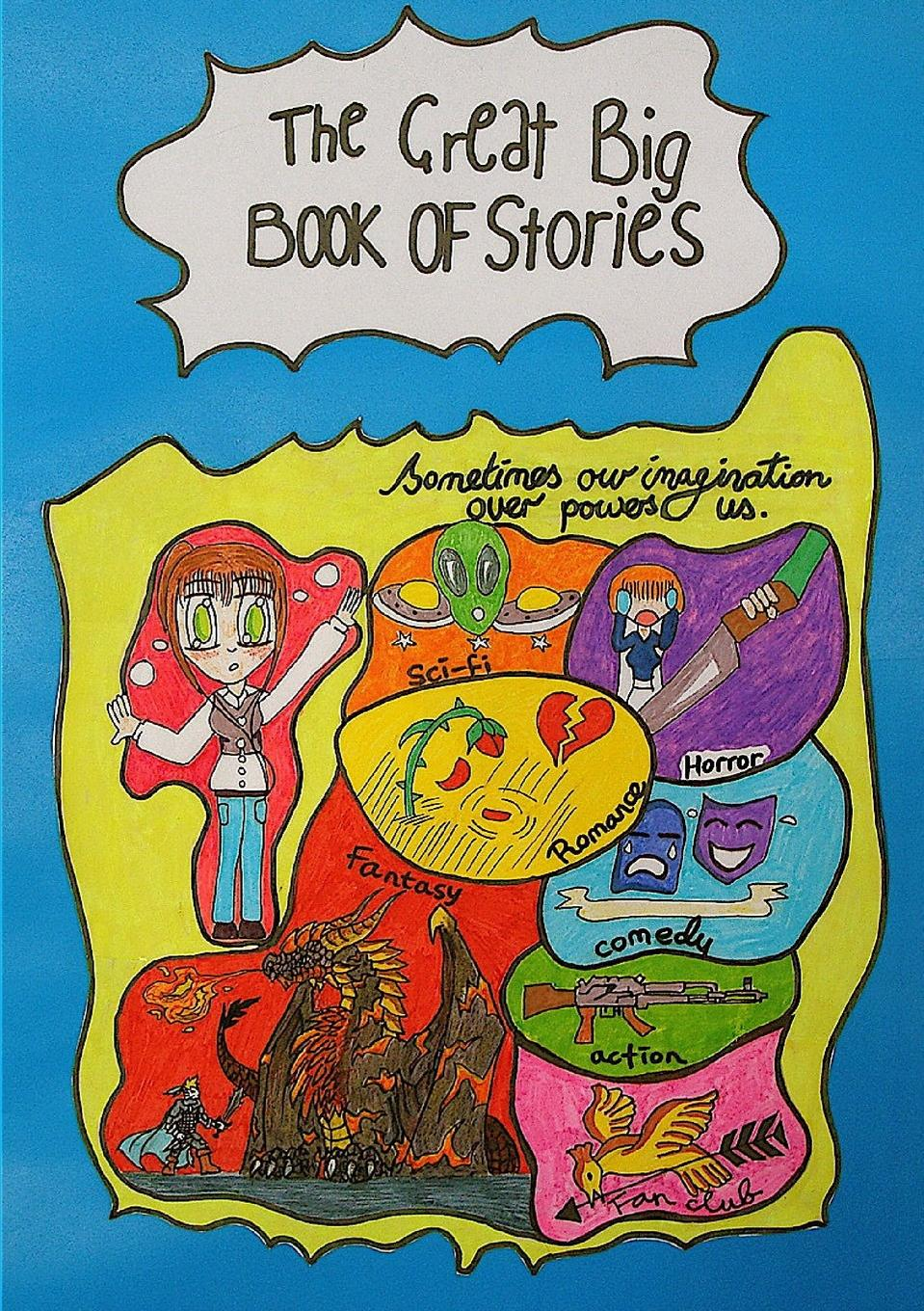 Battersea Young Writers The Great Big Book of Stories m hill song stories for the kindergarten