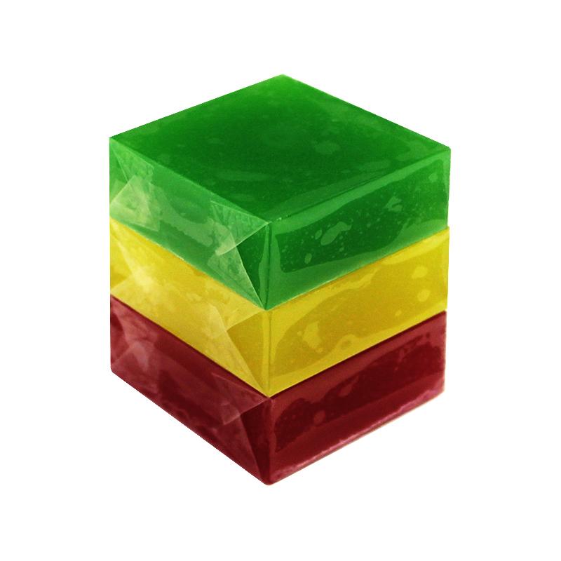 Мыло туалетное ЭЛИБЭСТ ухаживающее натуральное глицериновое мыло набор «Светофор» для повседневного использования, 3 шт. по 60 гр.
