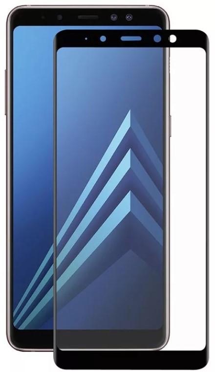 Защитное стекло TFN Samsung Galaxy A8+ защитное стекло для samsung galaxy s9 sm g960 onext 3d изогнутое по форме дисплея с черной рамкой