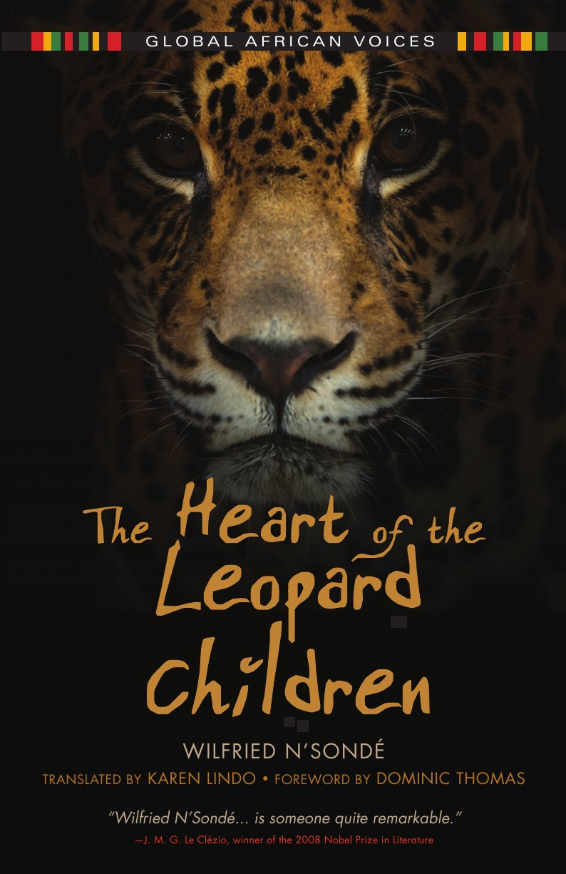 Wilfried N'Sonde, Wilfried N'Sondae, Karen Lindo Heart of the Leopard Children the leopard