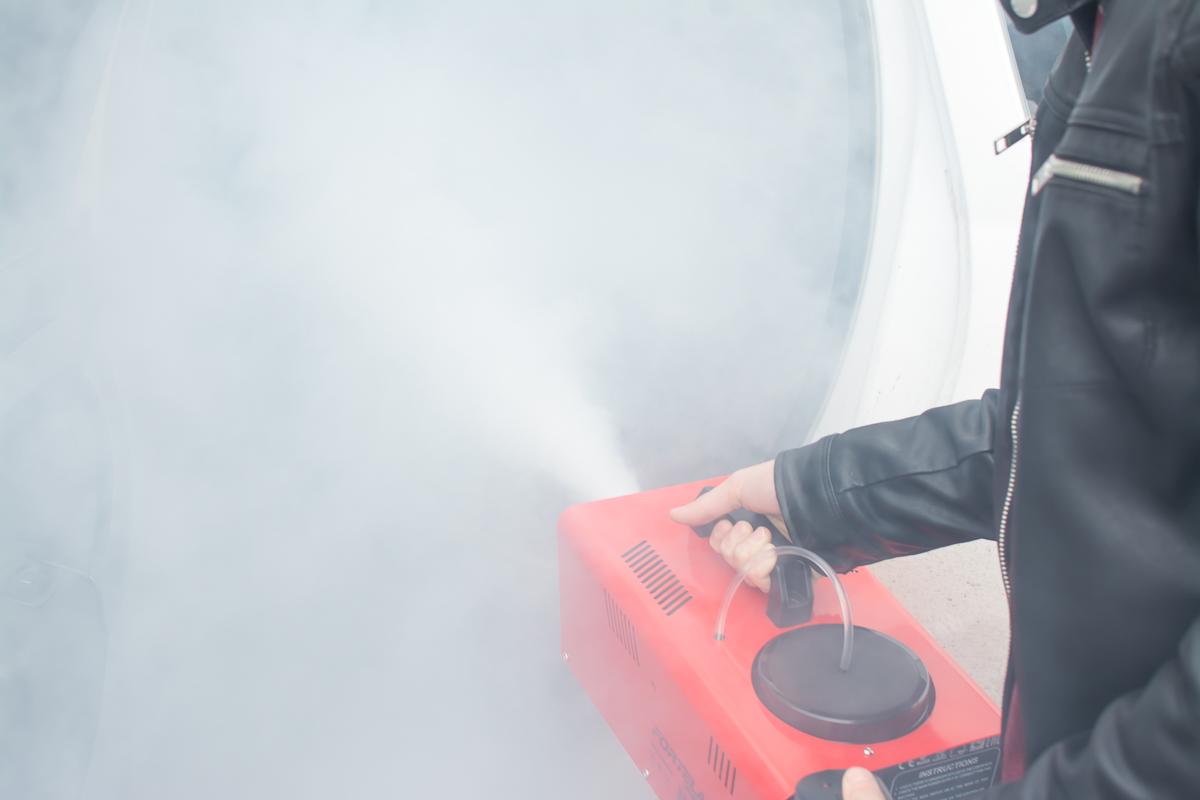 Генератор сухого тумана SmellWell SW900 + Пробник в подарок SmellWell