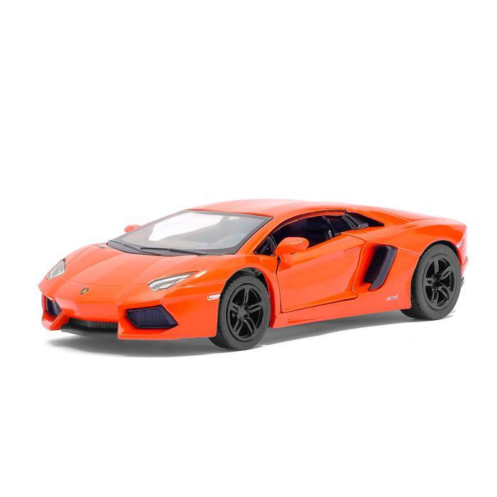 Машинка металлическая с открывающимися дверями модель Lamborghini Aventador LP 700-4 автомобиль на радиоуправлении 1 26 kidztech lamborghini aventador lp 700 4
