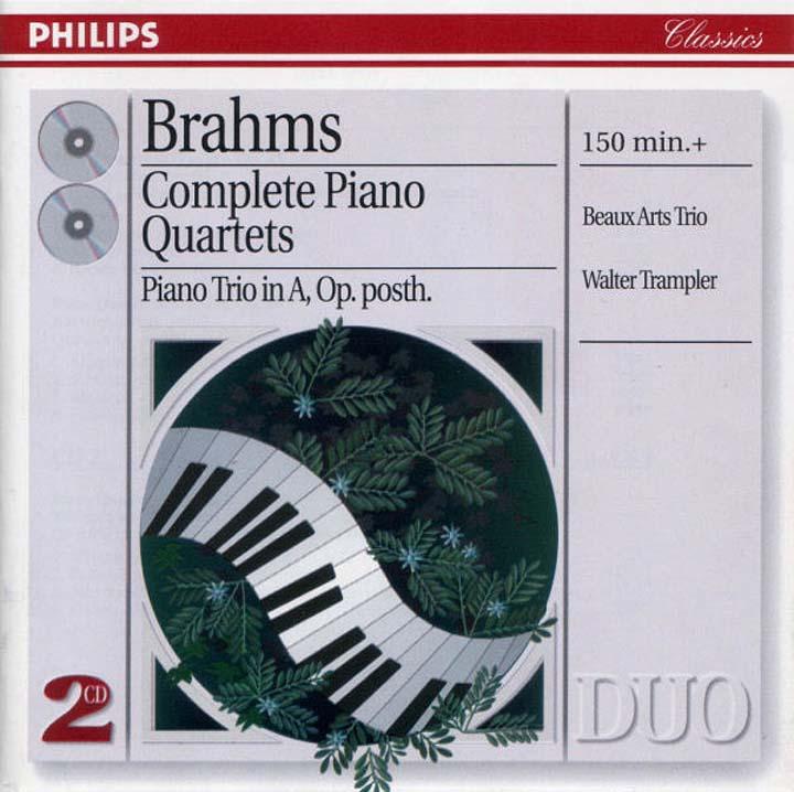 Beaux Arts Trio. Brahms: Complete Piano Quartets все цены
