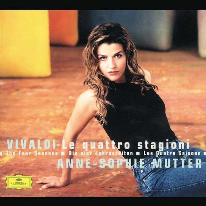 Anne-Sophie Mutter. The Four Seasons (CD+DVD) цена