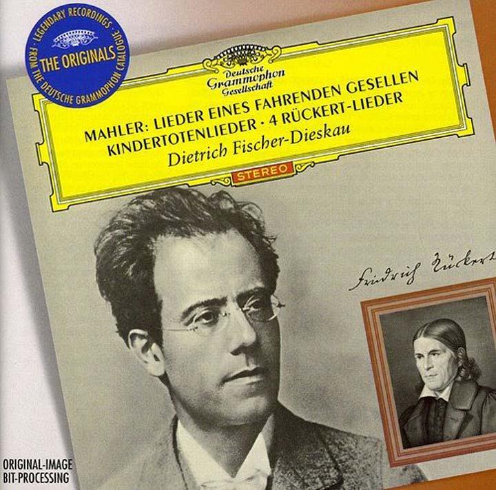 Dietrich Fischer-Dieskau. Mahler: Lieder дитрих фишер дискау кристоф эшенбах dietrich fischer dieskau schumann lieder 6 cd