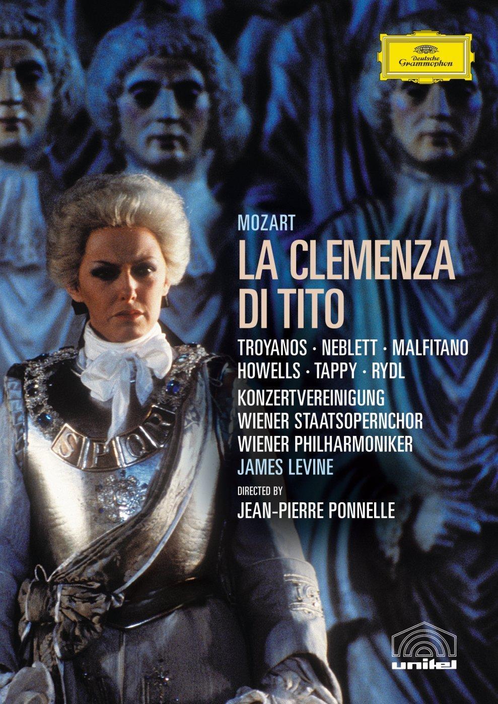 James Levine. Mozart: La Clemenza Di Tito strauss james levine elektra