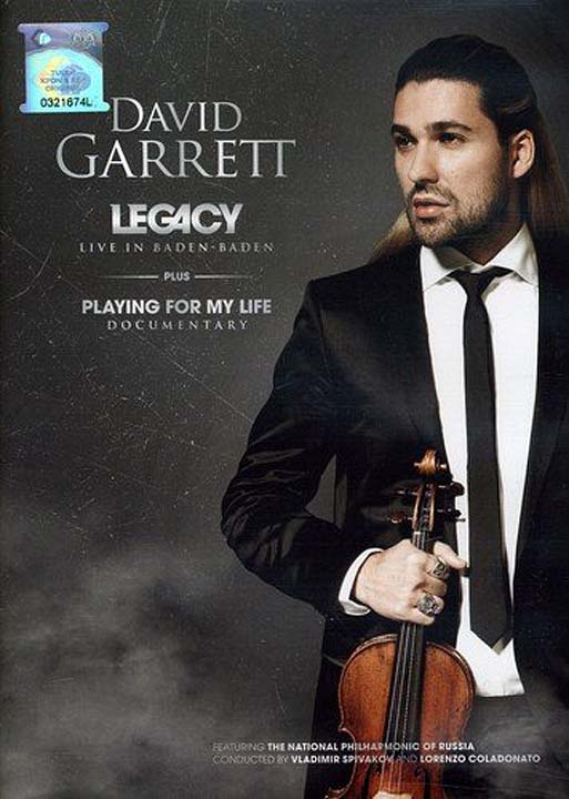 David Garrett. Live In Baden Baden