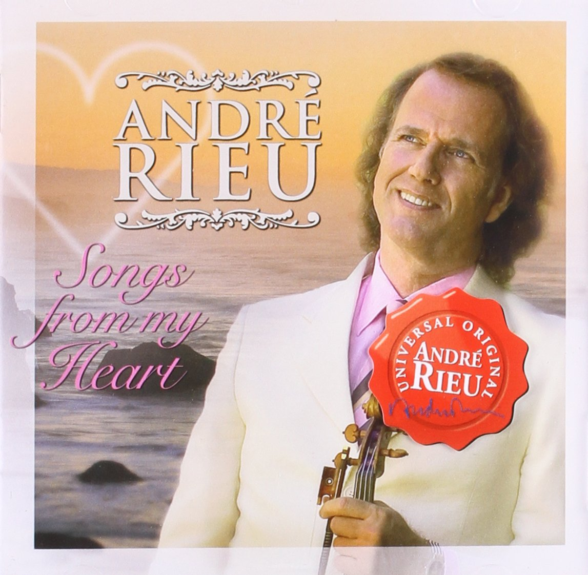 Andre Rieu. Songs From The Heart андрэ рье andre rieu in love with maastricht
