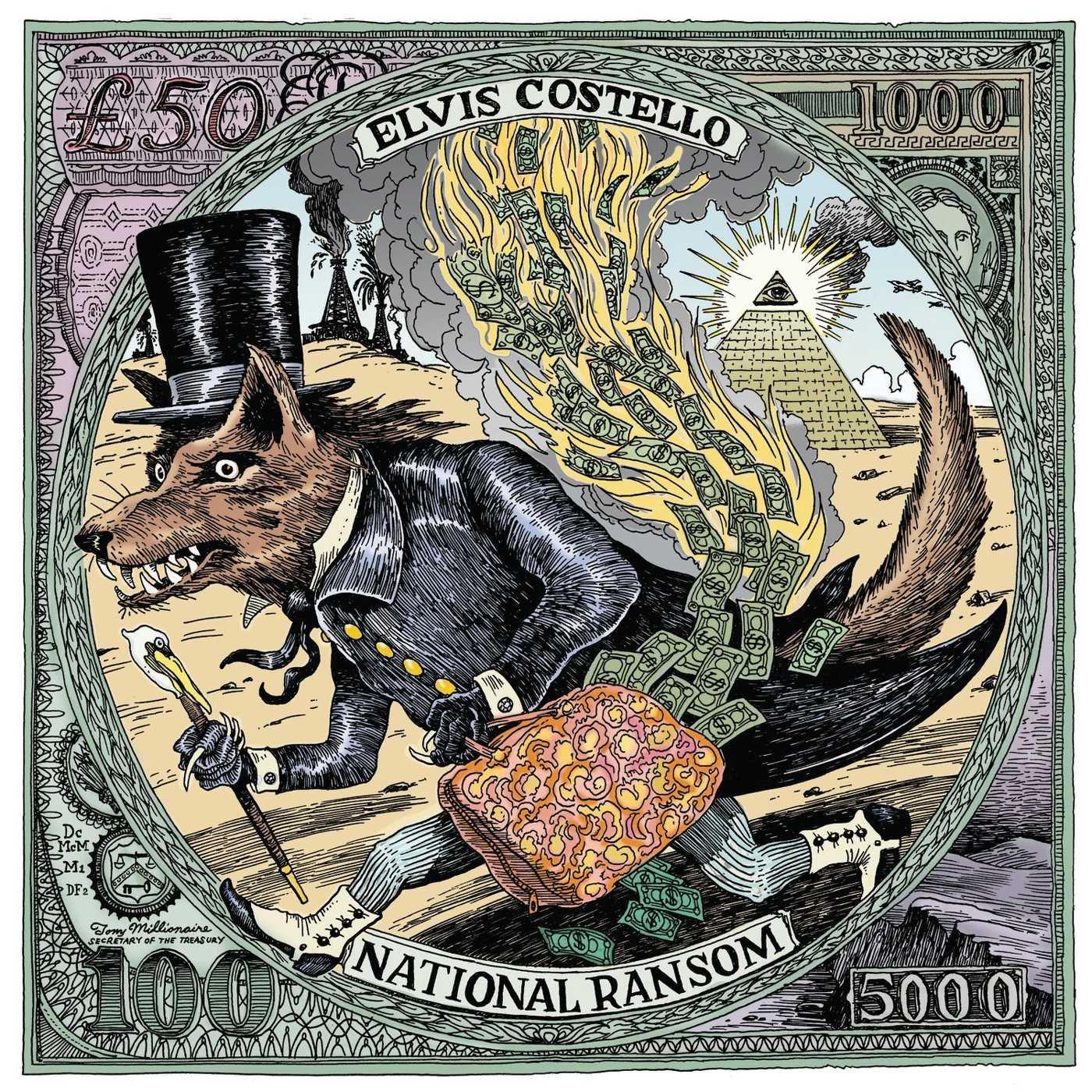 Elvis Costello. National Ransom
