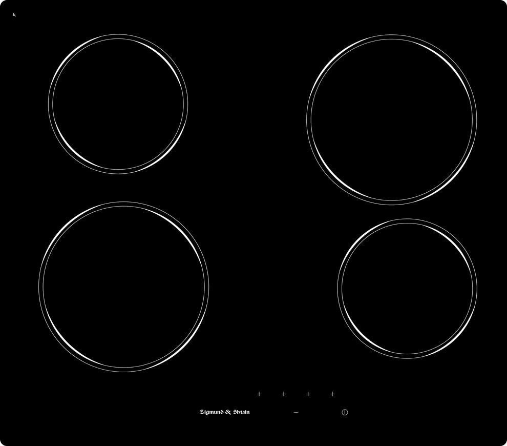 Варочная панель CNS 229.60 BX, черный