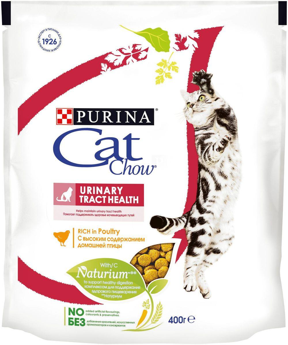 """Корм сухой для взрослых кошек Cat Chow """"Special Care"""", для профилактики мочекаменной болезни, 400 г"""