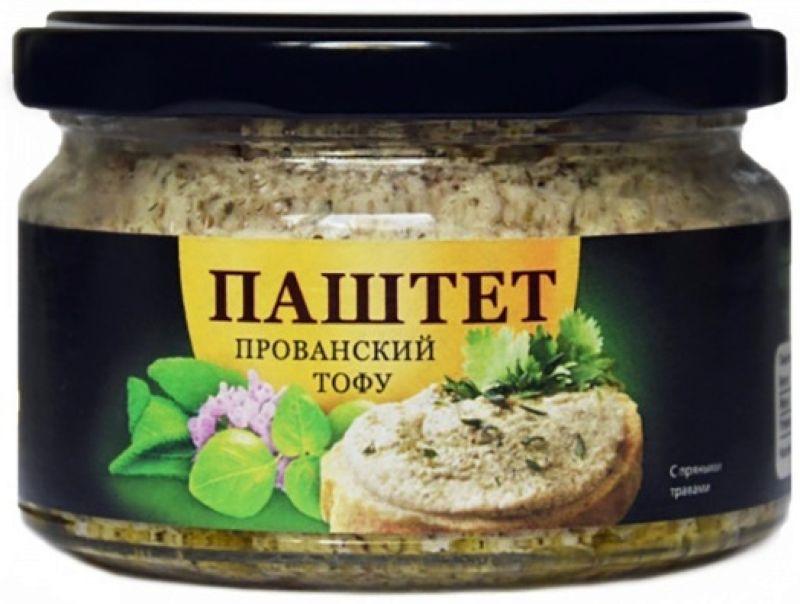 Суперфудс Ecotopia Соевый тофу-паштет Прованский, 185 г Ecotopia