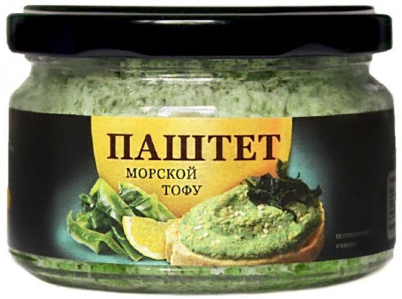 Суперфудс Ecotopia Соевый тофу-паштет Морской, 185 г Ecotopia