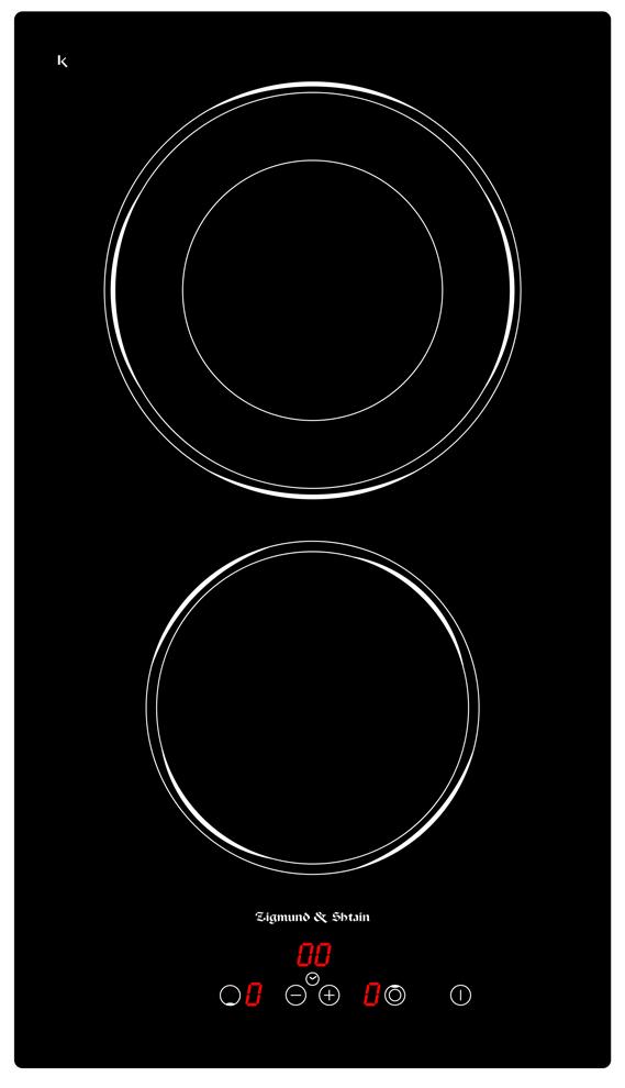 Варочная панель CNS 302.30 BX, черный