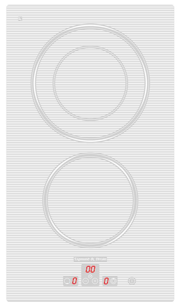 Варочная панель CNS 302.30 WX, белый