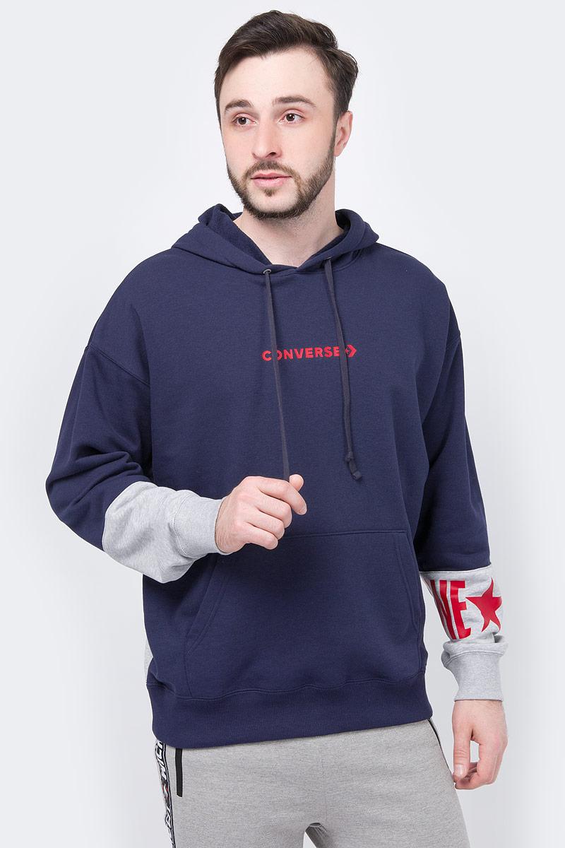 Худи Converse One Star Block Pack PO Hoodie худи converse love the progress print hoodie