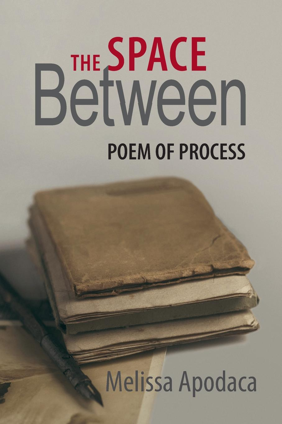 The Space Between. A Poem of Process In THE SPACE BETWEEN, Melissa Apodaca has created a narrative poem...