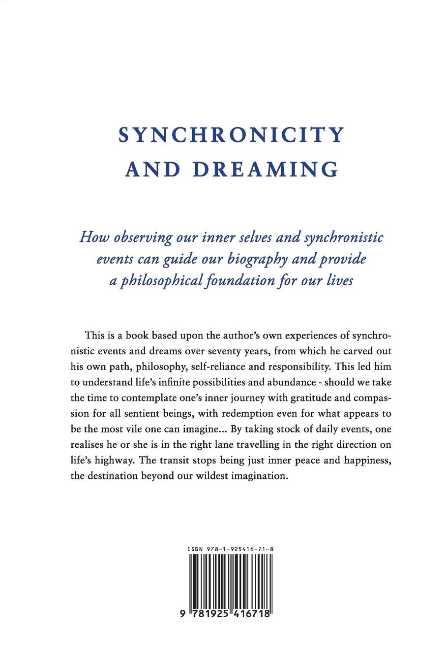 Richard King Synchronicity and Dreaming. Guidance For Our Lives marsh richard the woman with one hand and mr ely s engagement