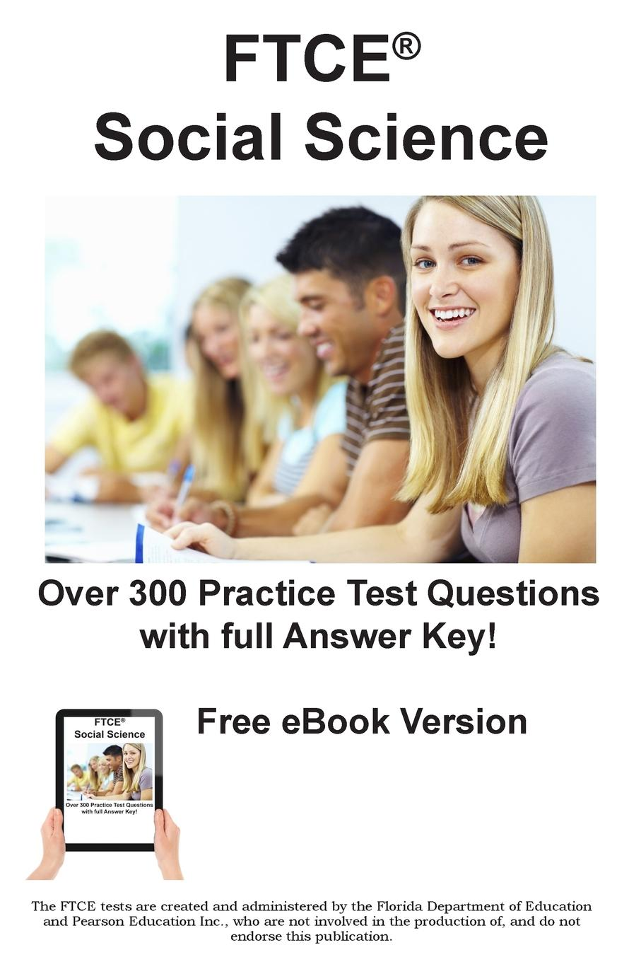 Complete Test Preparation Inc. FTCE Social Science 6-12. Practice Test Questions for FTCE Social Science Test block tsop28 ucos dedicated ic zy212a burning test socket adapter