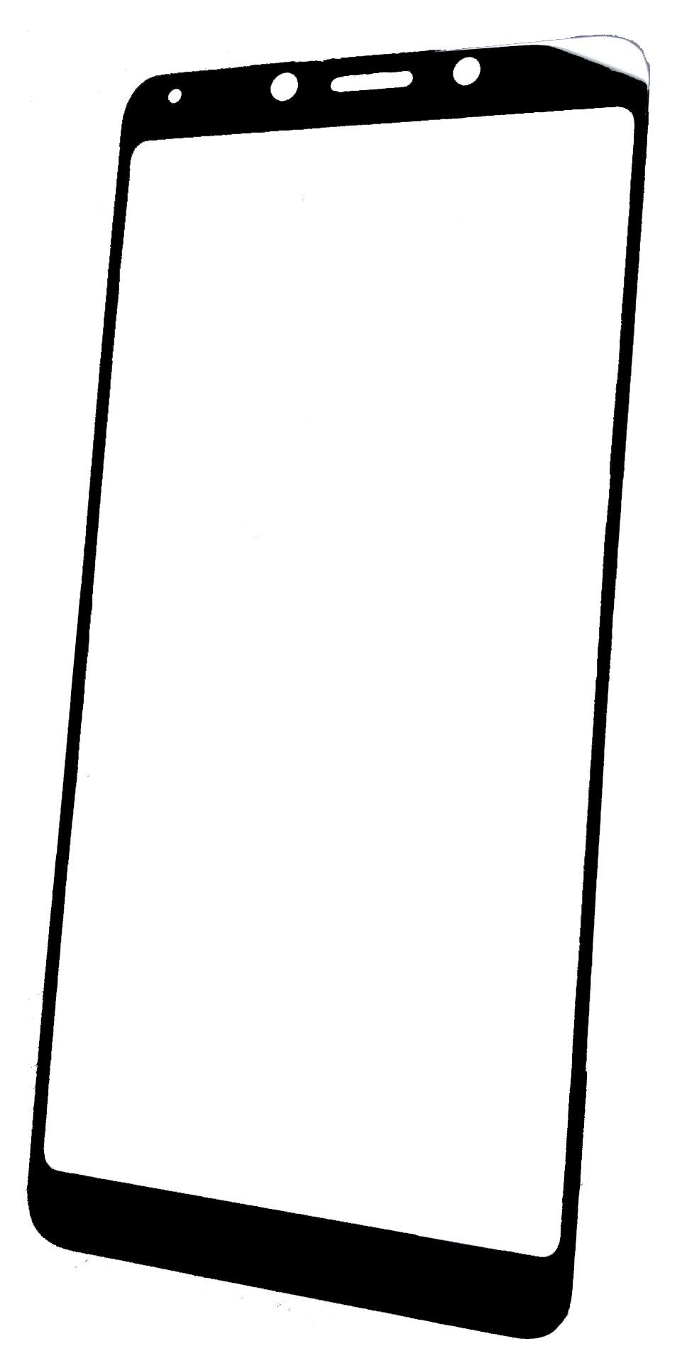 Защитное стекло Xiaomi Redmi 6 / Redmi 6A (Full Glue, черная рамка) защитное стекло для xiaomi redmi 4x полная проклейка белая рамка
