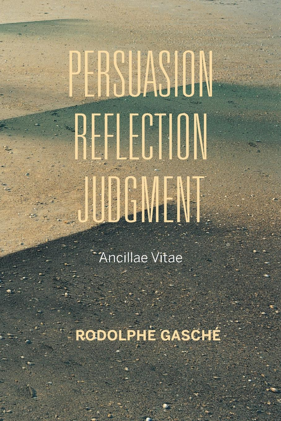 Rodolphe Gaschae Persuasion, Reflection, Judgment. Ancillae Vitae heinrichs jay how to argue with a cat human s guide to the art of persuasion