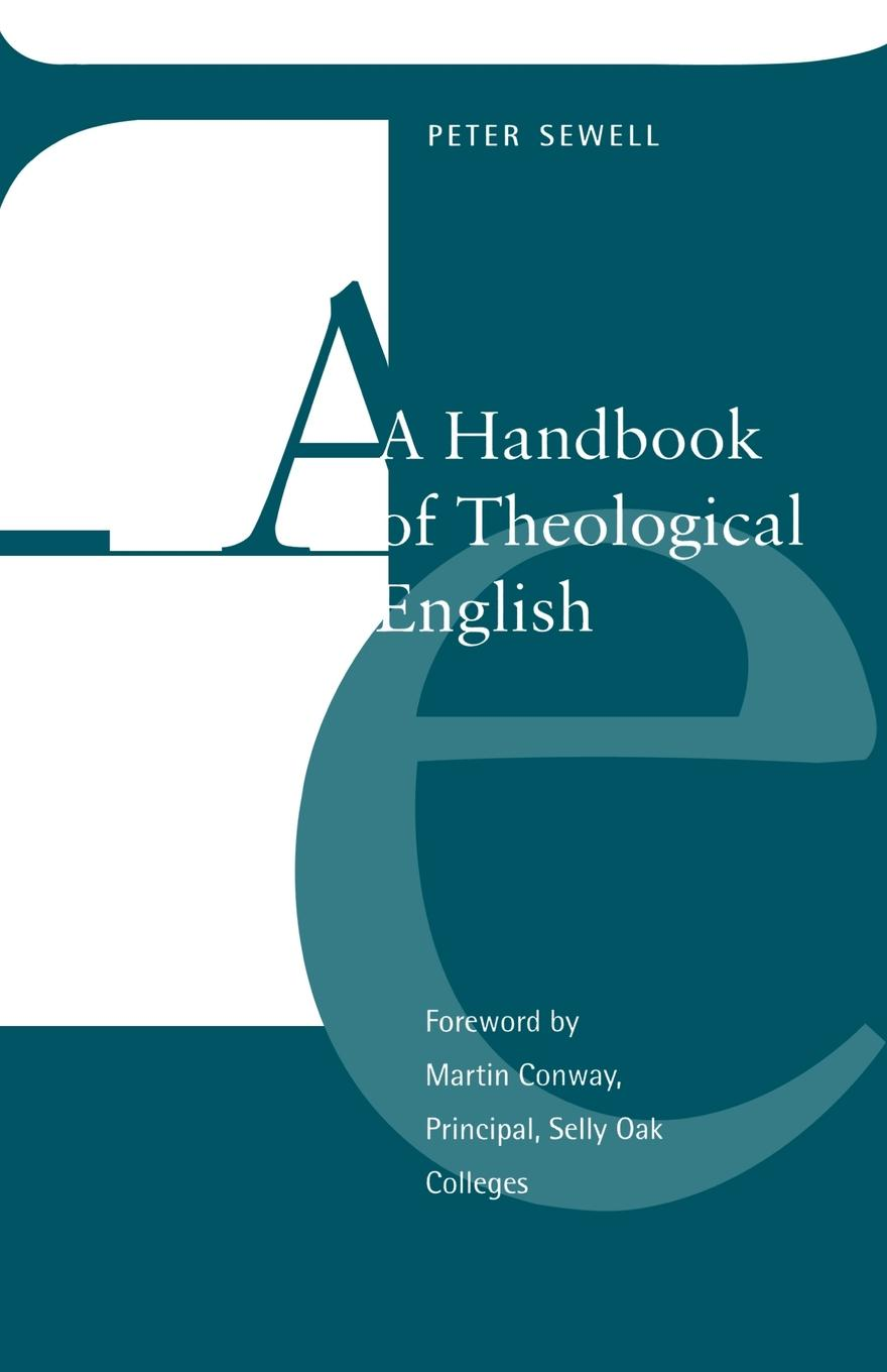 Peter Sewell A Handbook of Theological English should standardized reading tests be untimed