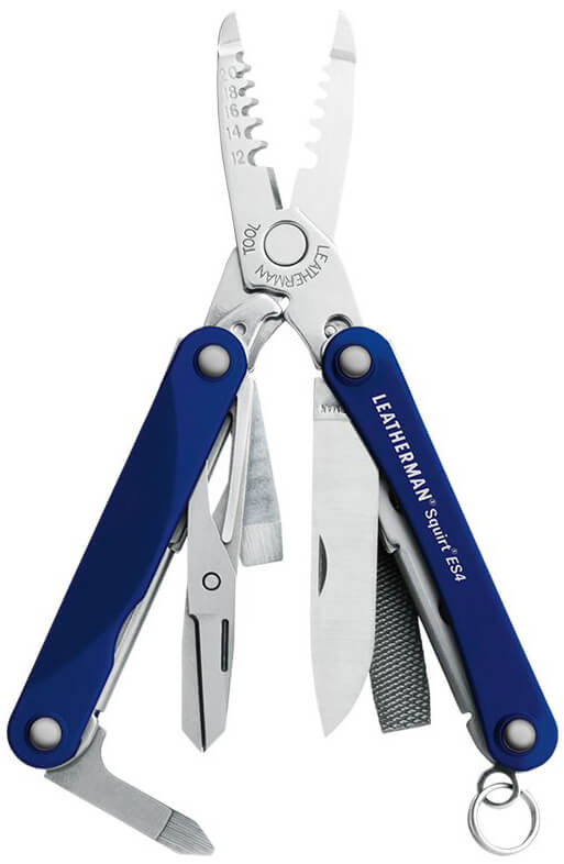 Мультитул Leatherman Squirt ES4 Blue