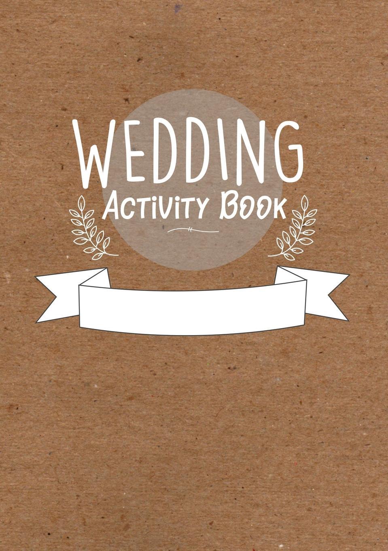 William c Gibson Childrens Wedding Activity Book- Kids Wedding Activities the wedding dress