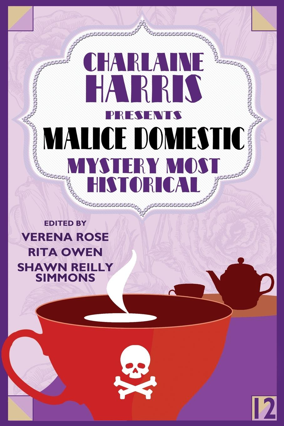 Charlaine Harris Presents Malice Domestic 12. Mystery Most Historical fingerband by