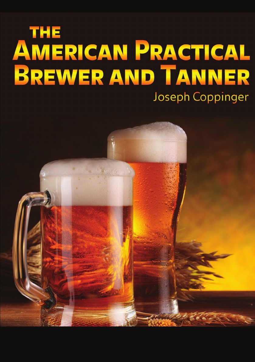 Joseph Coppinger The American Practical Brewer and Tanner beer soda bottle opener with carabiner clip silver