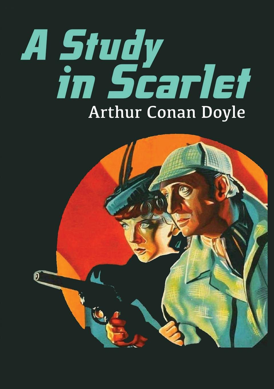Arthur Conan Doyle A Study in Scarlet недорго, оригинальная цена