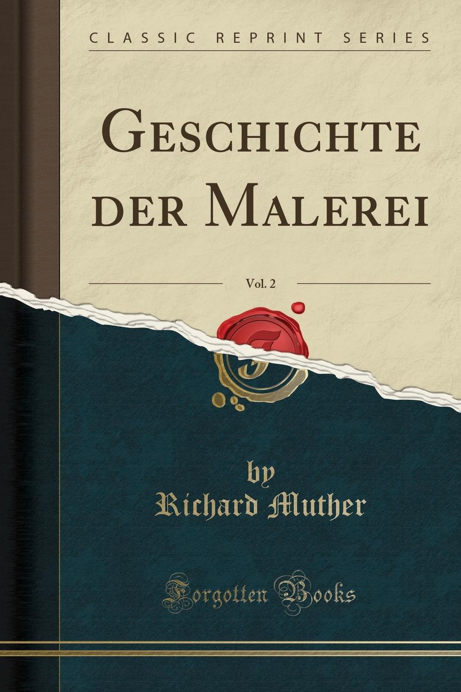 Richard Muther Geschichte der Malerei, Vol. 2 (Classic Reprint) scalloped curved hem 2 in 1 dress