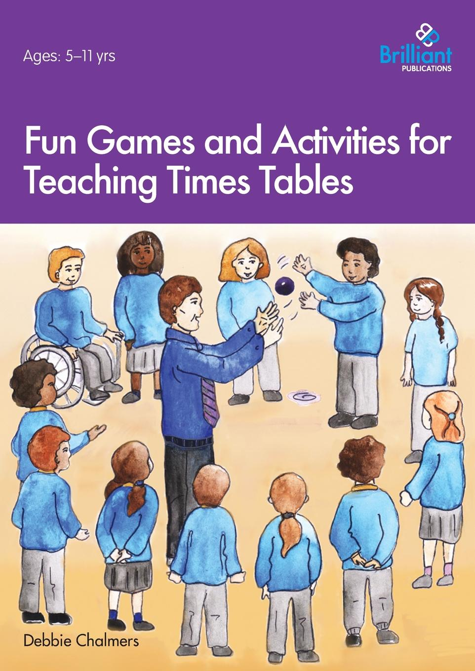Debbie Chalmers Fun Games and Activities for Teaching Times Tables lift the flap times tables