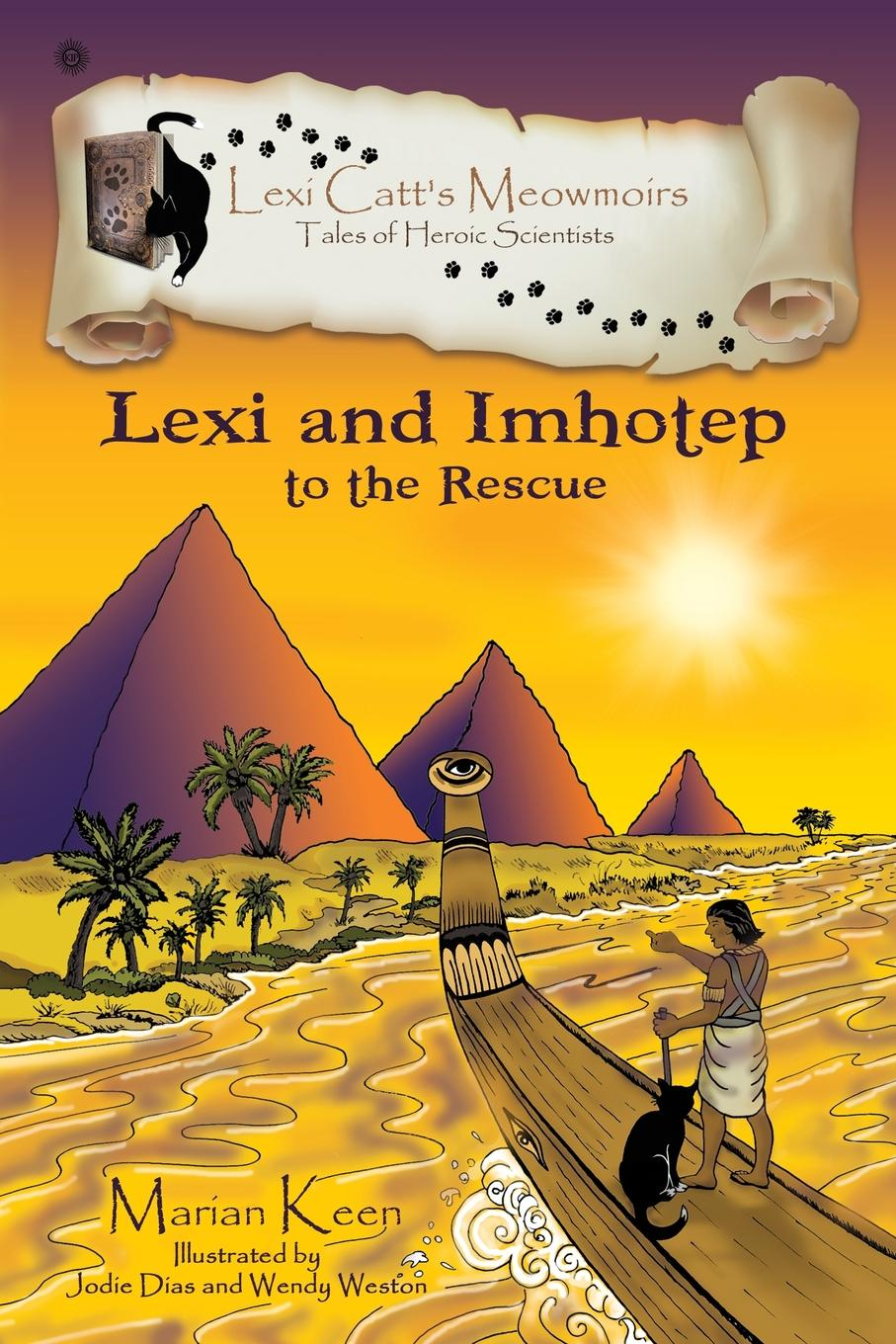 Marian Keen Lexi and Imhotep. To The Rescue the age of alexander nine greek lives