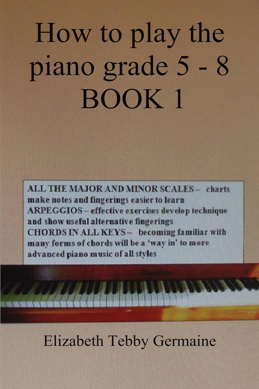 Elizabeth Tebby Germaine How to play the piano Grade 5 - 8 BOOK 1 high grade security anti theft stainless door motor bike warehouse padlock copper retro locks with 3 keys