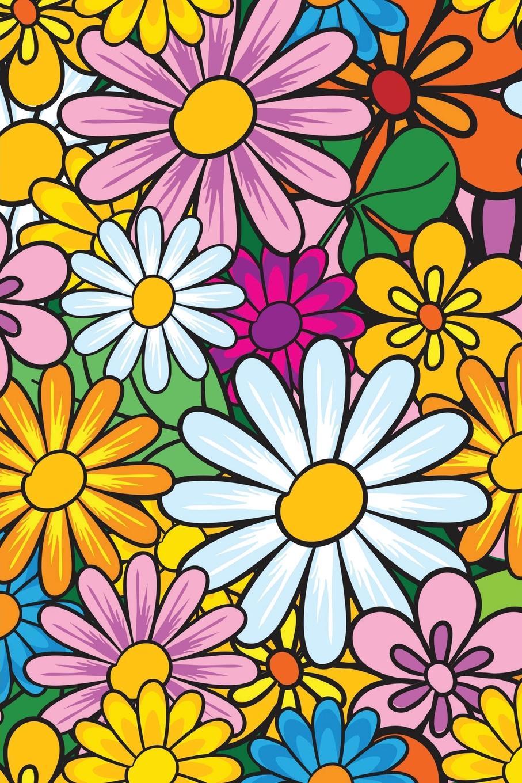 Lizzie Timewarp Notebook (flowers) lizzie timewarp notebook pink and white striped